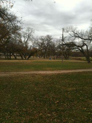 Brady Disc Golf Course, Main course, Hole 12 Tee pad