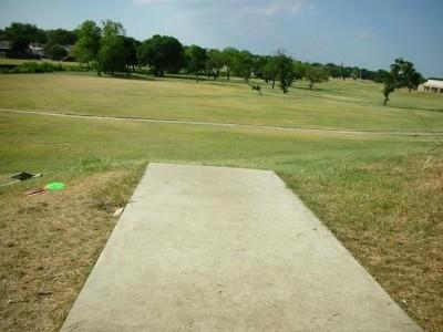 Greenbelt Park, Main course, Hole 5 Tee pad