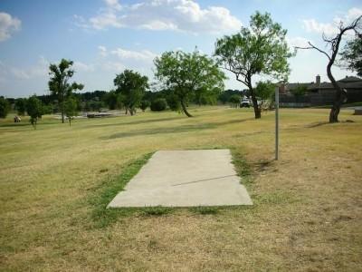 Greenbelt Park, Main course, Hole 10 Tee pad