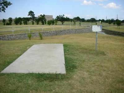 Greenbelt Park, Main course, Hole 2 Tee pad
