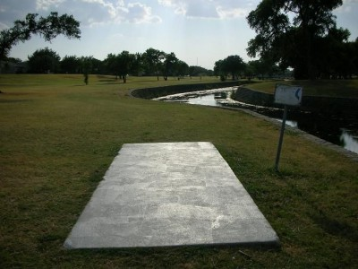 Greenbelt Park, Main course, Hole 16 Tee pad