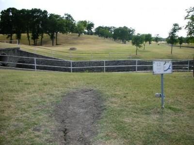 Greenbelt Park, Main course, Hole 12 Tee pad