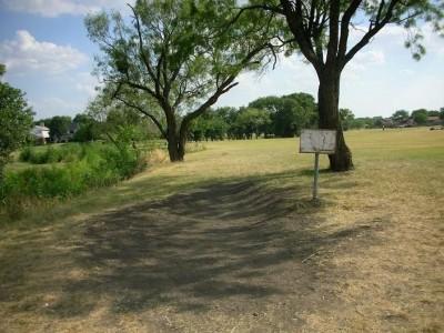 Greenbelt Park, Main course, Hole 7 Tee pad