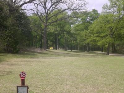 Lester Lorch Park, Beaver, Hole 18 Tee pad