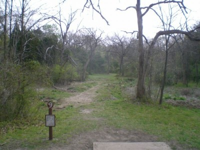 Lester Lorch Park, Beaver, Hole 9 Tee pad