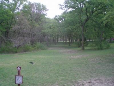 Lester Lorch Park, Beaver, Hole 6 Tee pad