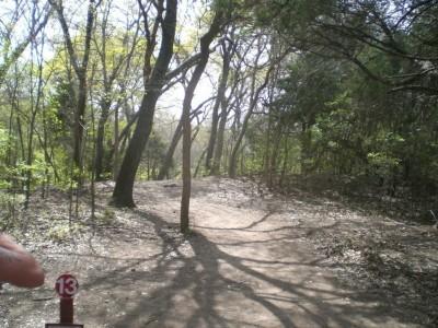 Lester Lorch Park, Beaver, Hole 13 Tee pad