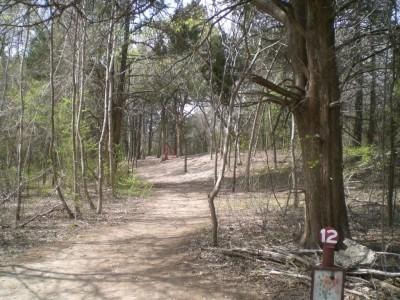 Lester Lorch Park, Beaver, Hole 12 Tee pad