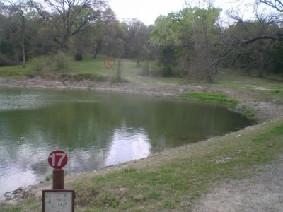 Lester Lorch Park, Beaver, Hole 17 Tee pad