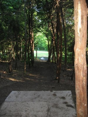 Lester Lorch Park, Coyote, Hole 18 Tee pad