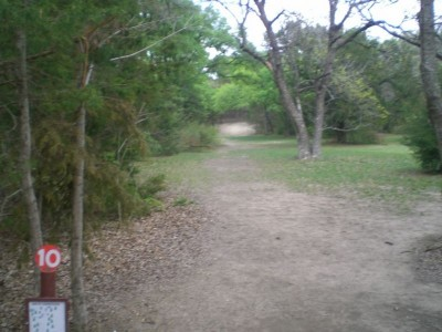 Lester Lorch Park, Coyote, Hole 10 Tee pad