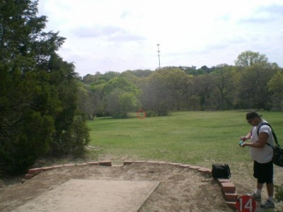 Lester Lorch Park, Coyote, Hole 14 Tee pad