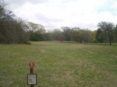 Lester Lorch Park, Coyote, Hole 1 Tee pad