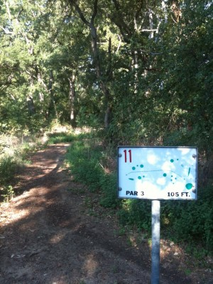 Andrew Brown Park, Main course, Hole 11 Tee pad