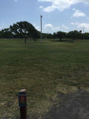 Lamar Park, Main course, Hole 8