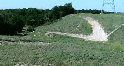 Bicentennial DGC, Main course, Hole 6 Short tee pad