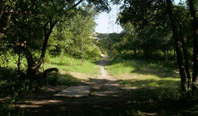 Bicentennial DGC, Main course, Hole 7 Long tee pad