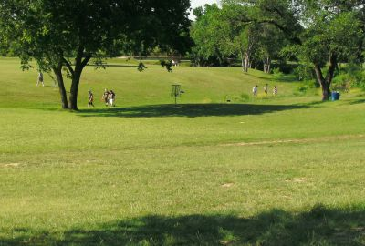 Bicentennial DGC, Main course, Hole 3 Midrange approach