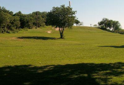Bicentennial DGC, Main course, Hole 3 Reverse (back up the fairway)
