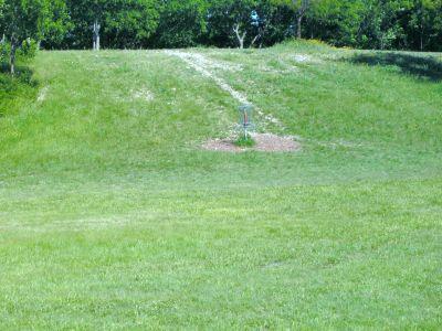 Bicentennial DGC, Main course, Hole 1 Short approach
