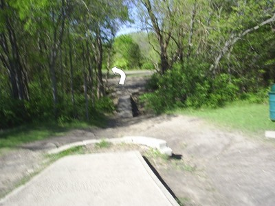 B. B. Owen Park, Main course, Hole 17 Tee pad