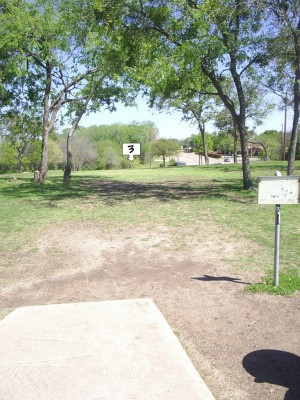 B. B. Owen Park, Main course, Hole 3 Tee pad