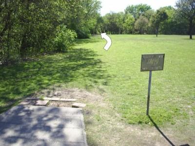 B. B. Owen Park, Main course, Hole 15 Tee pad