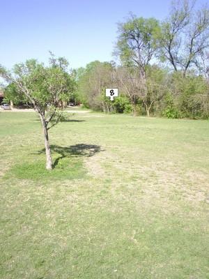 B. B. Owen Park, Main course, Hole 8 Midrange approach
