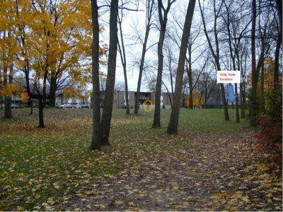 Wagner Park, Main course, Hole 7 Tee pad