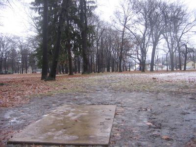 Wagner Park, Main course, Hole 18 Short tee pad