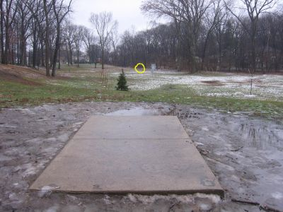 Wagner Park, Main course, Hole 6 Long tee pad