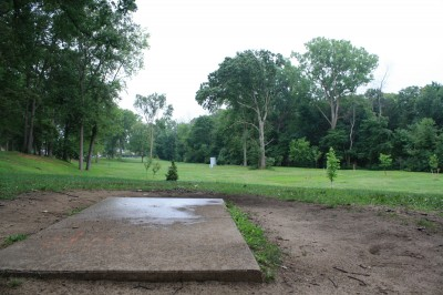 Wagner Park, Main course, Hole 6 Tee pad