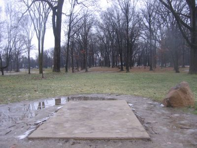 Wagner Park, Main course, Hole 8 Long tee pad