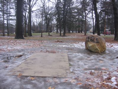 Wagner Park, Main course, Hole 3 Long tee pad