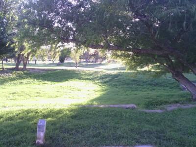 Fort Stockton DGC, Main course, Hole 6 Tee pad