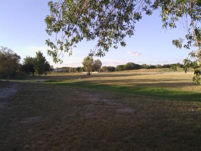 Fort Stockton DGC, Main course, Hole 10 Tee pad