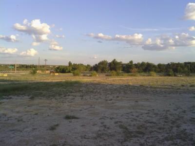 Fort Stockton DGC, Main course, Hole 16 Tee pad
