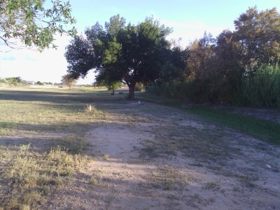 Fort Stockton DGC, Main course, Hole 9 Tee pad