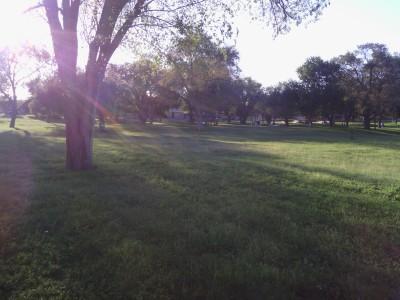 Fort Stockton DGC, Main course, Hole 5 Tee pad
