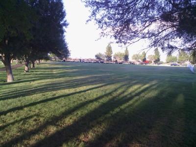 Fort Stockton DGC, Main course, Hole 14 Tee pad