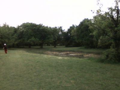 Arcadia Park, Main course, Hole 13 Tee pad