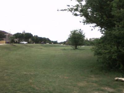 Arcadia Park, Main course, Hole 8 Tee pad