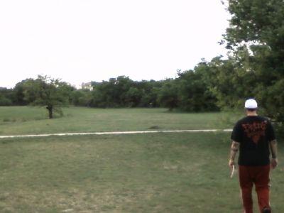 Arcadia Park, Main course, Hole 11 Tee pad