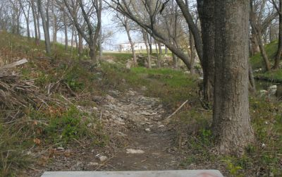 Greenbriar Community Center, Main course, Hole 14 Tee pad