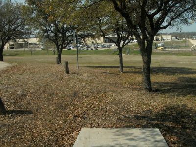 Greenbriar Community Center, Main course, Hole 5 Long tee pad