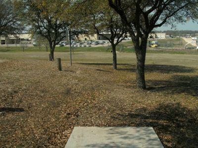Greenbriar Community Center, Main course, Hole 5 Short tee pad