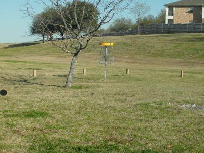 Greenbriar Community Center, Main course, Hole 9 Short approach