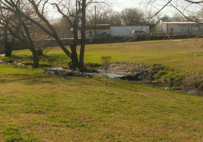 Greenbriar Community Center, Main course, Hole 7 Short approach