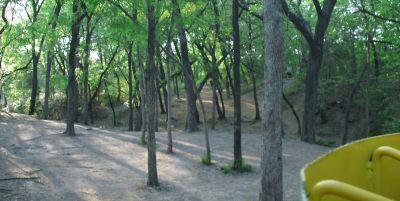 Z Boaz Park, Main course, Hole 18 Reverse (back up the fairway)
