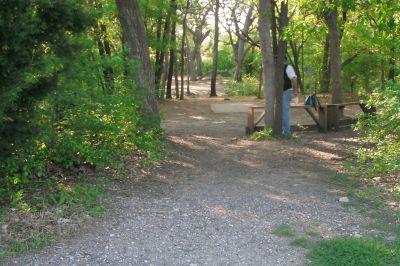 Z Boaz Park, Main course, Hole 14 Long tee pad